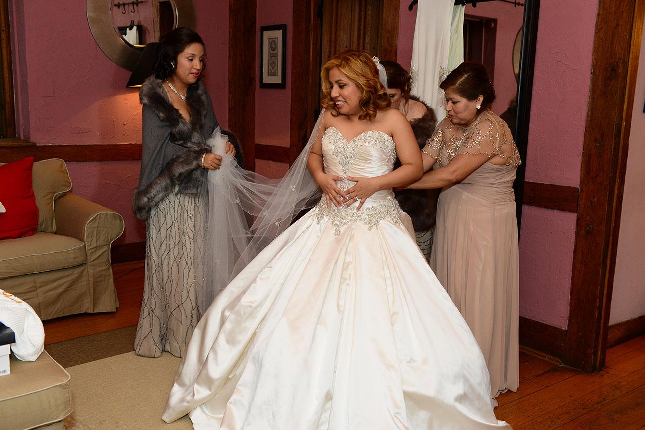 Bride in the Daughter's Bedroom