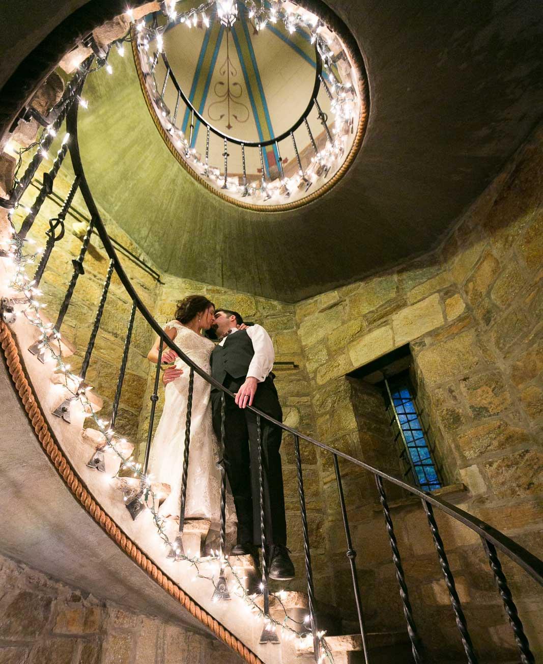 Spiral Staircase Kiss